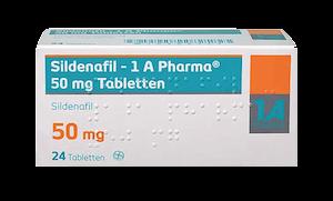Sildenafil 1 A Pharma 50 mg Potenzmittel Viagra Nachfolger