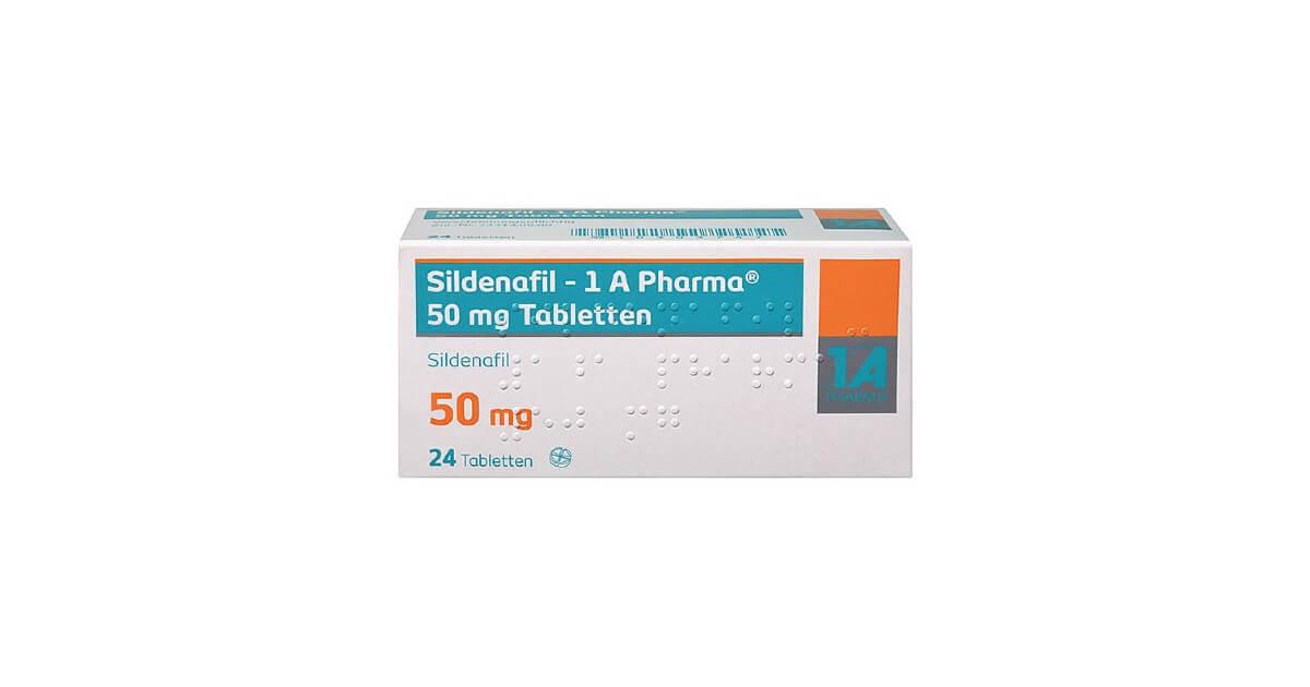 Sildenafil 1 A Pharma Erfahrungen und Preise
